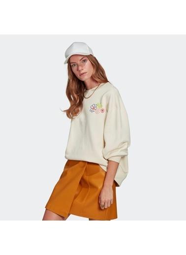 adidas Kadın Adıcolor Essentıals Sweatshirt 308797 Krem